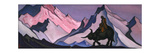 Laozi, 1943 Giclée-Druck von Nicholas Roerich