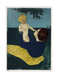 Under the Horse Chestnut Tree, C1898 Giclee Print by Mary Cassatt