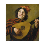 The Luteplayer, C.1623 Giclee Print by Frans I Hals