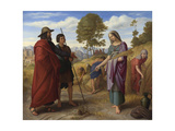 Ruth in Boaz's Field, 1828 Giclee Print by Julius Schnorr von Carolsfeld
