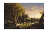 The Pic-Nic, 1846 Giclee Print by Thomas Cole