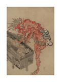 Demon, Possibly Ibaraki, Opening a Box, Early 19th C Giclee Print