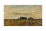 Farm at Kerity, Brittany Giclee Print by Charles-François Daubigny