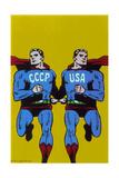 Supermen, 1968 Giclee Print