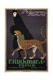 Fur Goods P. Rückmar and Co, C. 1910 Giclee Print by Ernest Montaut