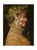 Summer, 1563 Giclée-tryk af Giuseppe Arcimboldo