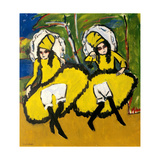 Two Dancers, 1910-1911 Giclee Print by Ernst Ludwig Kirchner