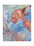 Mother and Child, 1922 Giclee Print by Kuzma Sergeyevich Petrov-Vodkin