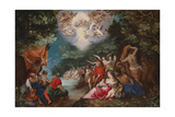 The Baptism of Christ Giclee Print by Jan Brueghel the Elder