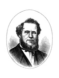 Brigham Young, American Mormon Leader, C1870 Giclee Print
