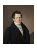 Portrait of Naumov, 1831 Giclee Print by Vasili Andreyevich Tropinin