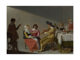 A Musical Party, 1631 Giclee Print by Jacob van Velsen