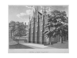 South-West View of Middle Temple Hall, Middle Temple, City of London, 1800 Giclee Print by Samuel Ireland