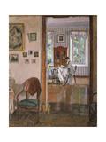 In a House, 1910 Giclee Print by Sergei Arsenyevich Vinogradov