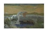 Vanity (La Vanit), 1897 Giclee Print by Giovanni Segantini