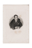 August Wilhelm Von Schlegel (1767-184) Giclee Print by Carl Mayer