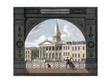 St George's Church, Bloomsbury, Holborn, London, C1800 Giclee Print