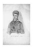 Self-Portrait (Cop), 1806 Giclee Print by Nikolay Petrovich Rezanov