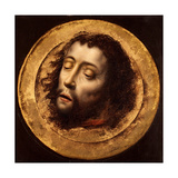 The Head of Saint John the Baptist Giclee Print by Aelbrecht Bouts
