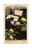 Miss Träumerei: a Weimar Idyl, 1895 Giclee Print by Ethel Reed