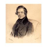 Robert Schumann (1810-185), 1839 Giclee Print by Josef Kriehuber