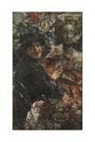 Aurelia, C. 1906 Giclee Print by Antonio Mancini