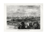 View of the City of Melbourne, Victoria, Australia, 1877 Giclee Print