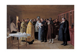 The Consecration of the Vodka Shop, 1904 Giclee Print by Nikolai Vasilievich Orlow