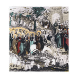 Christ's Entrance into Jerusalem, 16th Century Giclee Print