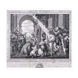 The Three Wise Men Make their Offerings to Christ and Worship Him, 1733 Giclee Print by Paolo Veronese