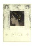 Junius, 1896 Giclée-Druck von Gustav Klimt