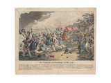 The Battle of Ostroleka on 26 May 1831 Giclee Print by Georg Benedikt Wunder