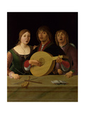 A Concert, C. 1490 Giclee Print by Lorenzo Costa