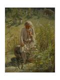 Beekeeper, 1872 Giclee Print by Ivan Nikolayevich Kramskoi