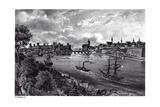 View of Narva, C. 1850 Giclee Print by Wilhelm Siegfried Stavenhagen