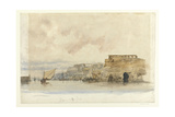 View of Valetta, Malta Giclee Print by James Holland