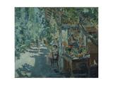 The Crimea, Fruit Store, 1913 Giclee Print by Konstantin Alexeyevich Korovin