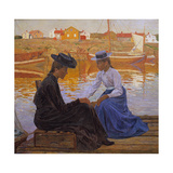 The Bay, 1901 Giclee Print by Carl Wilhelmson