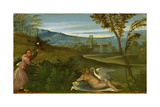 Leda and the Swan, C. 1500 Giclee Print by  Giorgione