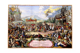 Allegory of King John III Sobieski, 1675 Giclee Print by Romeyn De Hooghe