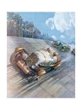 Motor Racing, 1930 Giclee Print