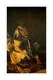 Othello Killing Desdemona, 1879 Giclee Print