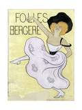 Folies Bergères, 1900 Giclee Print by Leonetto Cappiello