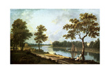 The Thames, Twickenham, C1762 Giclee Print by Richard Wilson