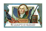 George Washington (1732-179), American President, 18th Century Giclee Print