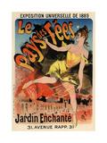 Le Pays Des Fees, 1889 Giclee Print by Jules Chéret