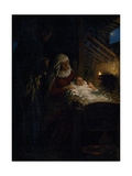 Nativity, 1890 Giclee Print by Ilya Yefimovich Repin