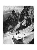 Peteret Ridge, Mont Blanc, France, Early 20th Century Giclee Print