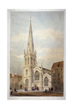 St Andrew's Church, Wells Street, Marylebone, London, C1846 Giclee Print by  Day & Haghe