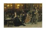 Parisian Café, 1875 Giclee Print by Ilya Yefimovich Repin